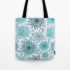 Seamless flower pattern Tote Bag