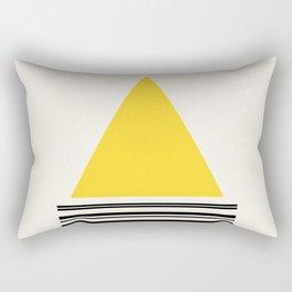 Code Yellow 002 Rectangular Pillow