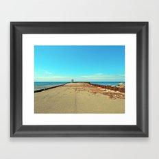 Warped by the Sea Framed Art Print