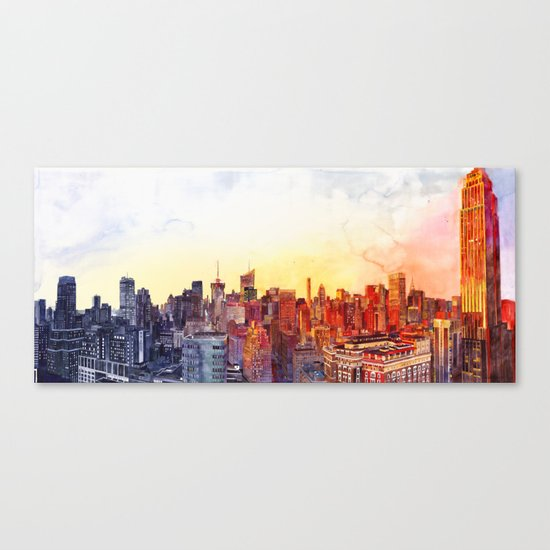 Sunshine in NYC Canvas Print