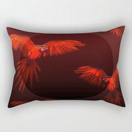 Papagei sunset Rectangular Pillow