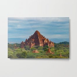 Temple in Bagan Metal Print