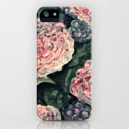Hydrangeas in Light iPhone Case