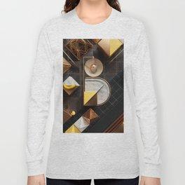 36 Days of Type - B Long Sleeve T-shirt