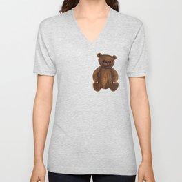 Stare bear. Unisex V-Neck