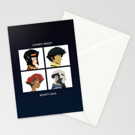 Cowboy Bebop - Bounty Days Stationery Cards