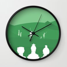 Avatar - Earth Book Wall Clock