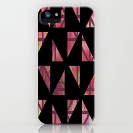 Geometric Shapes: Triangles 03 iPhone Case