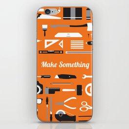 Make Something! iPhone Skin