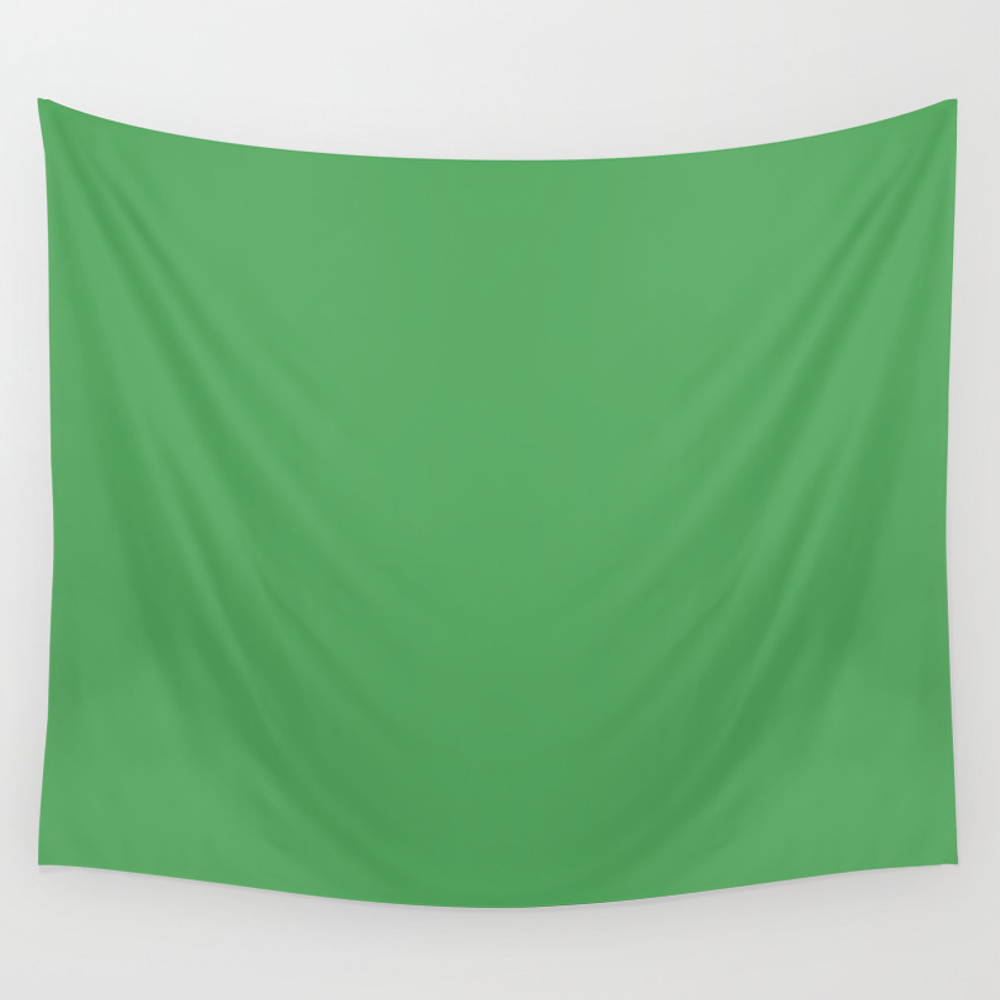 Vibrant Green Wall Tapestry by Saravalor TPS7414465