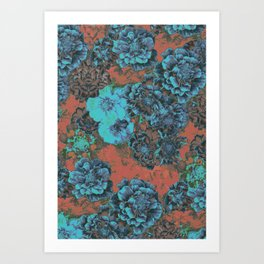 Vintage Bloom Art Print