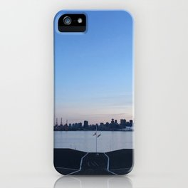 Sunset in North Vancouver iPhone Case