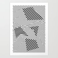 games Art Prints featuring Beach Games by Tyler Spangler