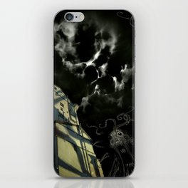 Nightmare in the Outskirts iPhone Skin
