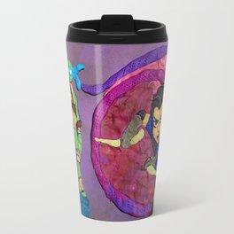 Leonardo and Shinigami Travel Mug