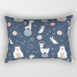 Space Animals Rectangular Pillow