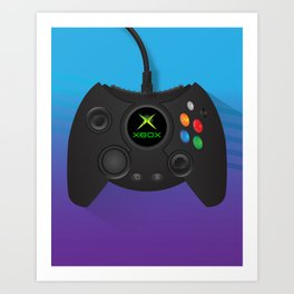 Xbox Controller Art Print