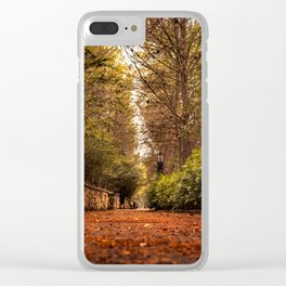 Vista inferior Clear iPhone Case