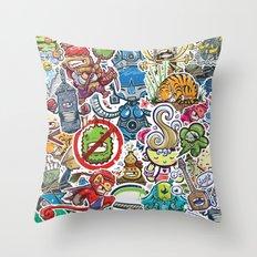 Kampu Kids Throw Pillow