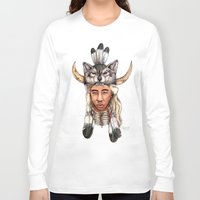 tyler the creator Long Sleeve T-shirts featuring WOLF / Tyler, The Creator by Daniel Cash