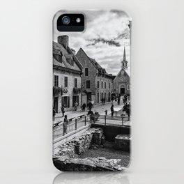 Old Quebec City iPhone Case