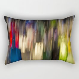 Colorful Bright Light Abstract Rectangular Pillow