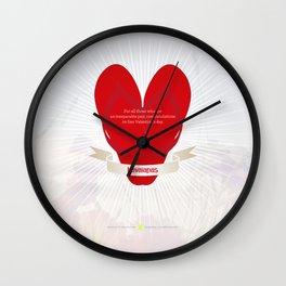 Havaianas San Valentine's day by Bennassar Wall Clock