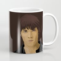 sam winchester Mugs featuring Sam Winchester by siddick49