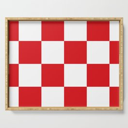 Flag of North Brabant Serving Tray
