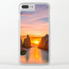 Sunrise in Tossa Clear iPhone Case
