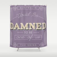 australia Shower Curtains featuring Australia by iamBrookeHolland