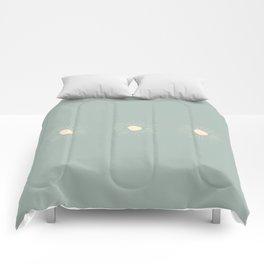 Sun Line Drawing Comforters