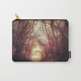 Ancient tree tunnel into the sea Carry-All Pouch