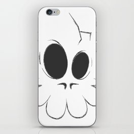 Cracked Skull iPhone Skin