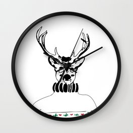 Sweater Weather Wall Clock