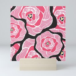 Signature Pink and Black Mini Art Print