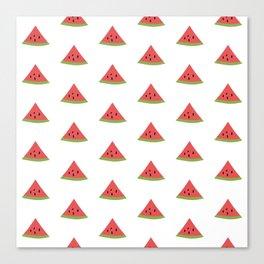 Watermelon Slice Print and Pattern Canvas Print