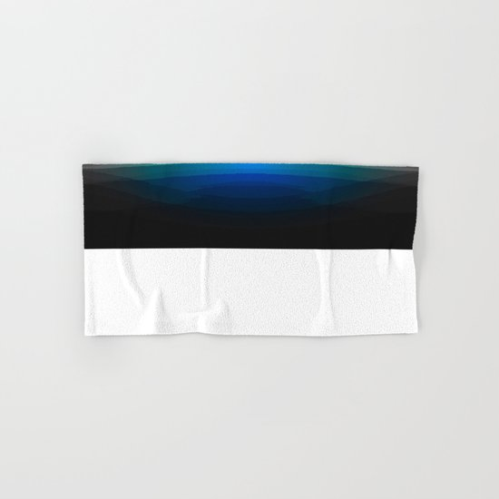 Blue Sunrise Hand & Bath Towel