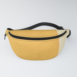 Yellow White Fanny Pack