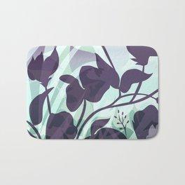 Sassy Sedge - cool colors Bath Mat