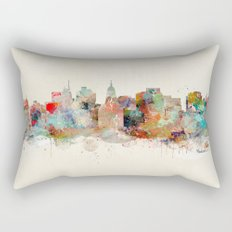 Madison Wisconsin  Rectangular Pillow
