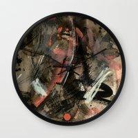 community Wall Clocks featuring Community by Lisa Romero