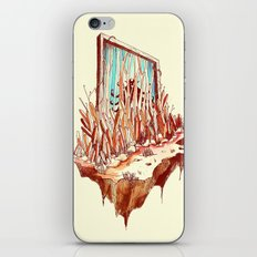 Hidden Gate iPhone Skin
