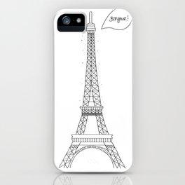 Bonjour Paris! iPhone Case