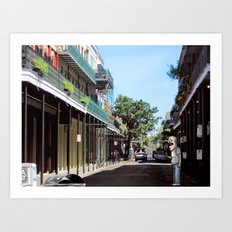 Rusty Goes to New Orleans Art Print