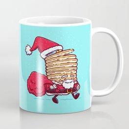 Santa Pancake Coffee Mug