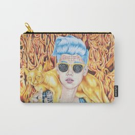J.B. and the Golden Pussy Carry-All Pouch