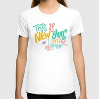 new year T-shirts featuring New Year by Chelsea Herrick