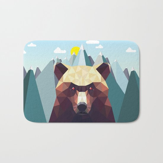 Bear Mountain  Bath Mat