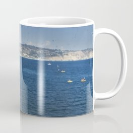Kayakers in the Cove Coffee Mug